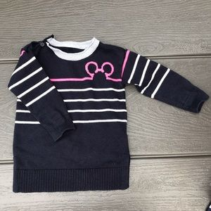 3/$20 Gap-toddler Mickey sweater dress-2Years